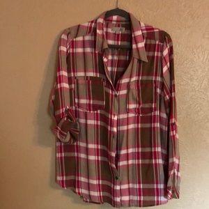 Kut from the kloth long sleeve shirt
